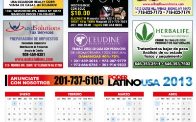 Calendarios PoderLatinoUSA