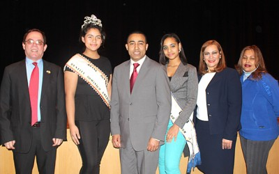 Cónsul Dominicano y Comisionados de West New York
