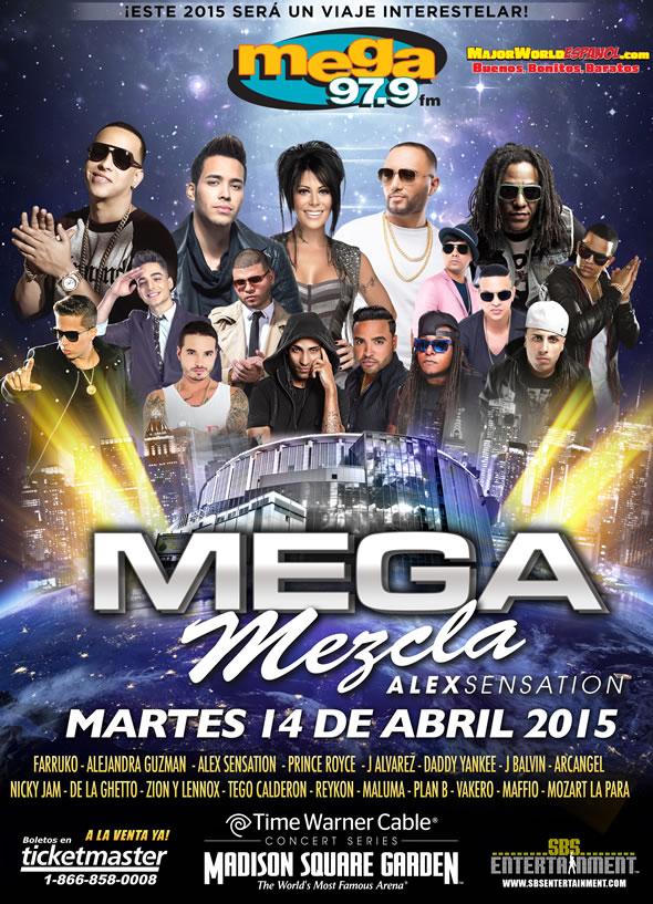 Mega Mezcla Alex Sensation