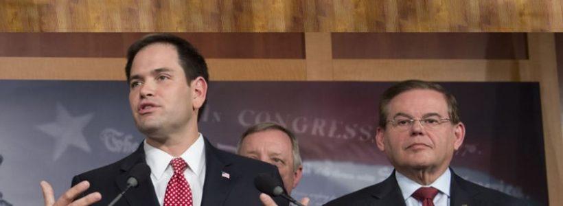 Marco Rubio y Bob Menémdez